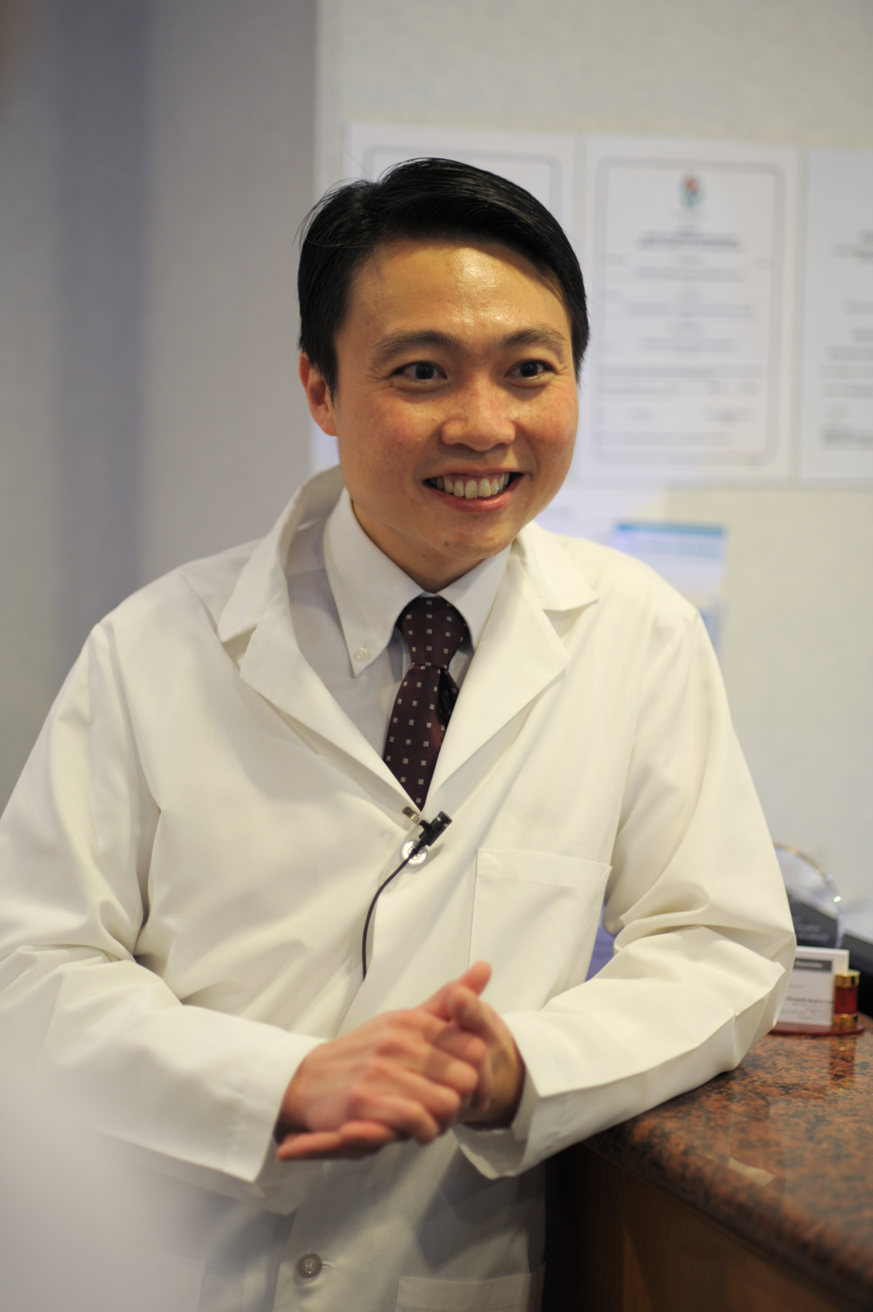 Dr SL Chan Singapore Oral Surgeon